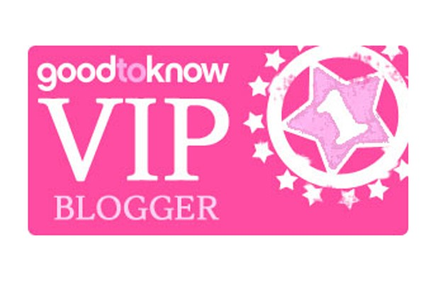 Goodtoknow VIP Blogger Badge
