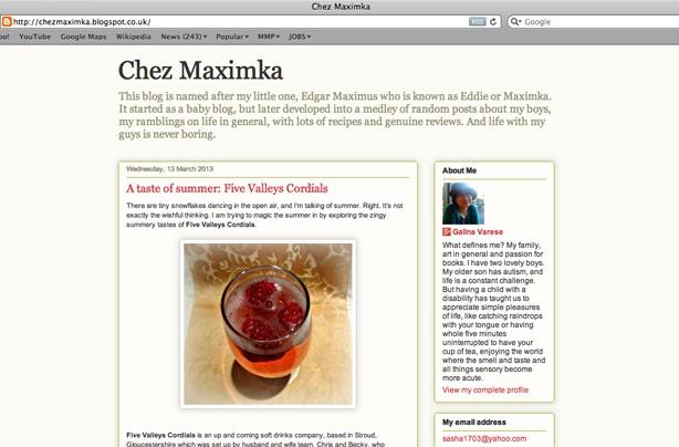 Chezmaximka blog