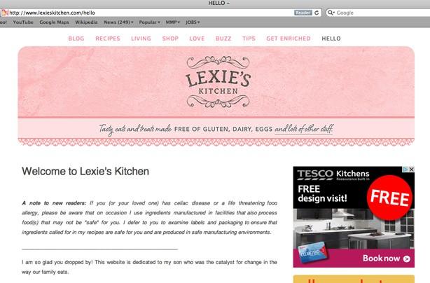 Lexie's kitchen blog