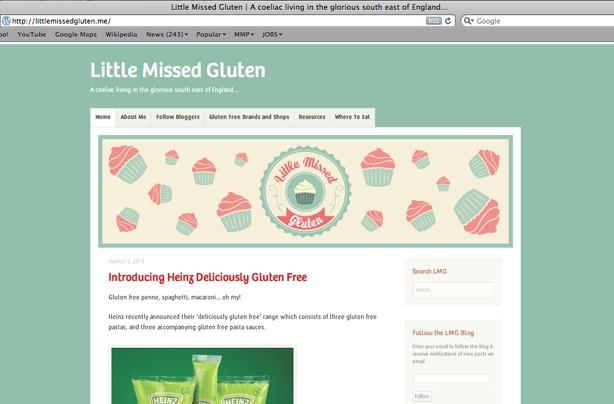 Little missed gluten blog