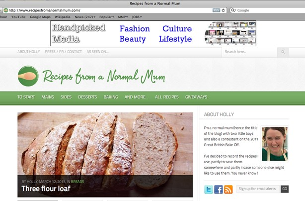 Recipes from a normal mum blog