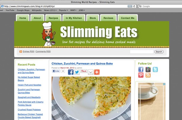 Slimming eats blog