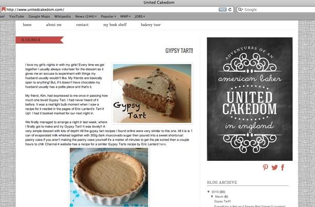 United Cakedom blog