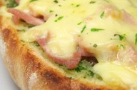 Cheese and ham toasties