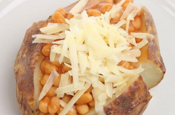 Jacket Potato Fillings Crispy Jacket Potato With Cheesy