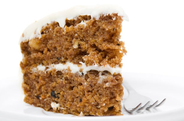 Carrot and banana cake