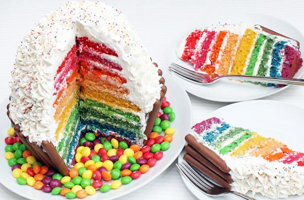 Giant Rainbow Cupcake Recipe Goodtoknow