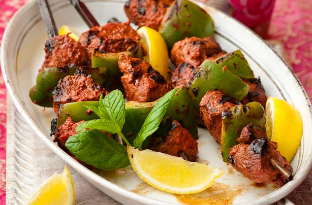 Tandoori lamb skewers recipe - goodtoknow