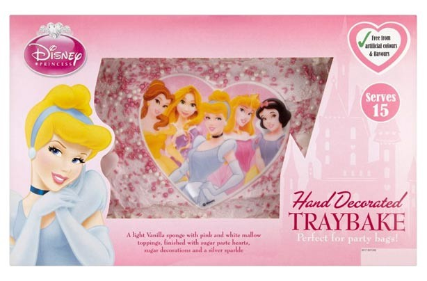 Disney Princess Birthday Cake Tesco