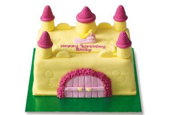 Waitrose Cake Design Competition : Princess birthday cake ideas - Waitrose Enchanted Castle ...