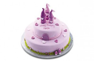 Waitrose Cake Design Competition : Princess birthday cake ideas - Waitrose Fairy Castle Cake ...