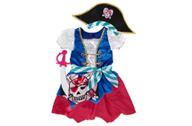 Asda pirate girl outfit
