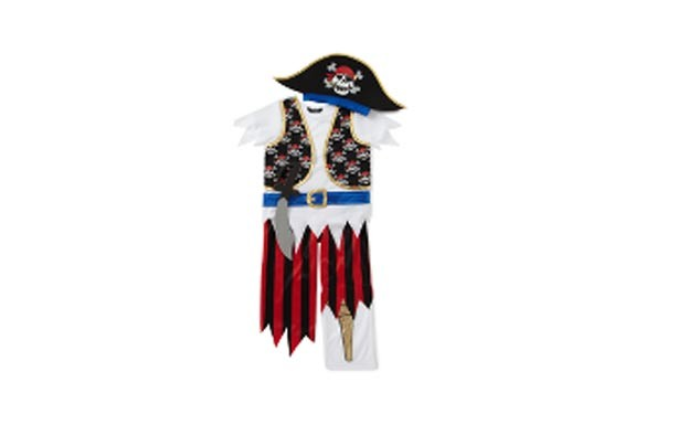 Asda pirate outfit
