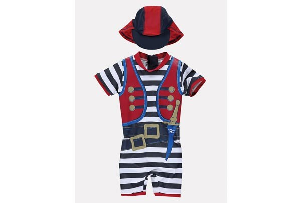 Woolworths sunsafe pirate set