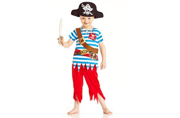 Tesco pirate outfit