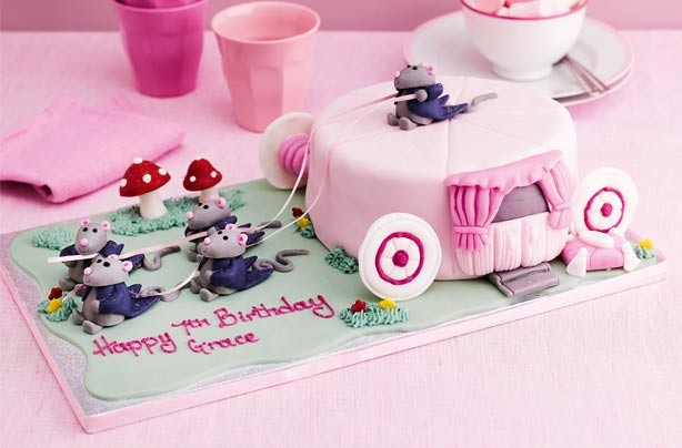Princess birthday cake ideas - M&S Cinderella Carriage cake, £45 ...