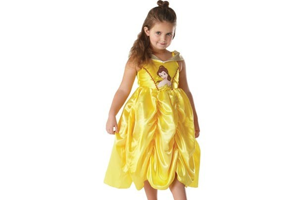 Debenhams Girl's Golden Belle costume