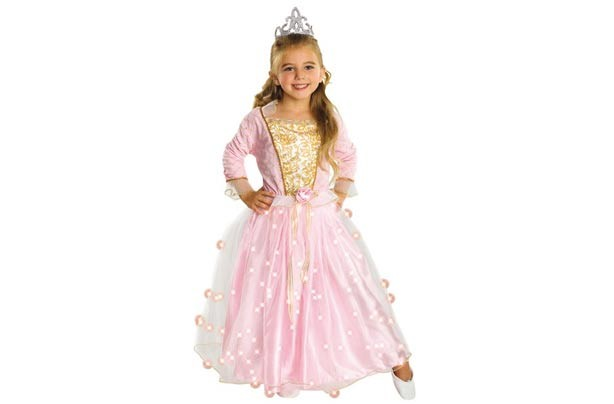 Red Hot Fancy Dress Rose princess costume