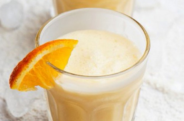 Lemongrass and orange smoothie