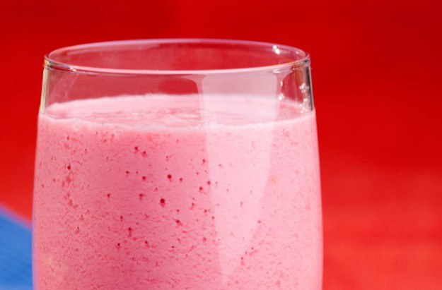 Raspberry yog nog