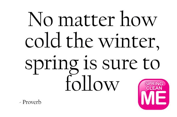 spring proverb quote