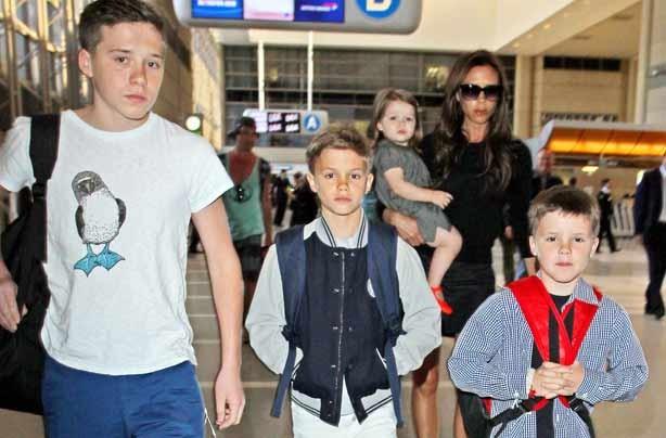 Beckham boys April15