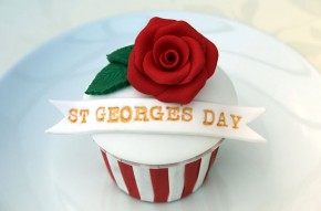St George?s Day cupcakes