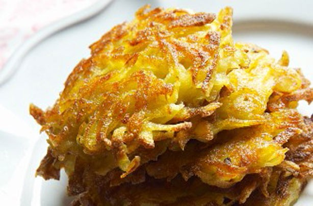 Breakfast potato pancakes