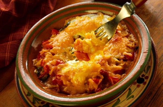 Mexican breakfast eggs