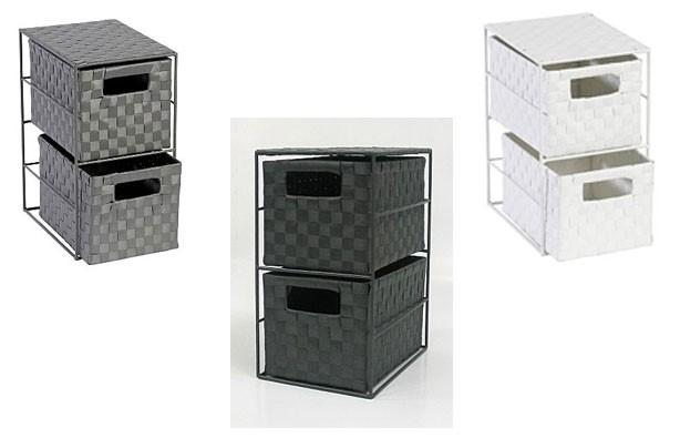 Cheap storage solutions Asda Weave Drawer Storage Unit