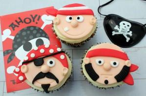Pirate cupcakes