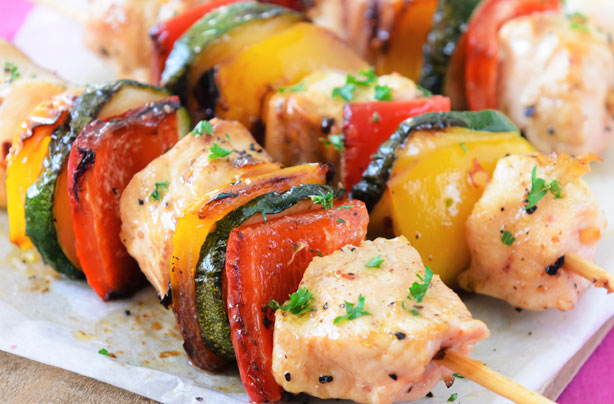 Lemon chicken kebabs recipe - goodtoknow