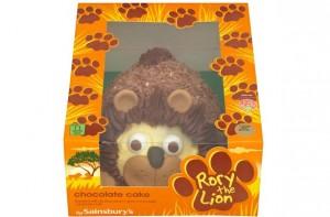Sainsbury S Party Cake Decorations : Jungle birthday cake ideas - Sainsbury s Rory the Lion ...