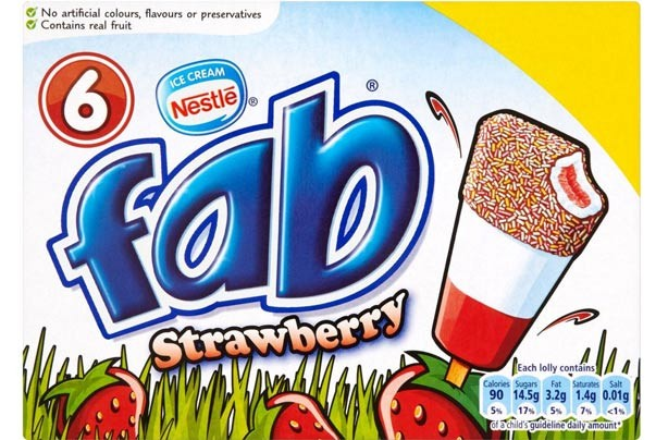 Fab ice lollies