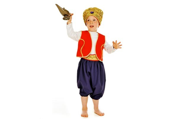 Tesco Party's Aladdin costume