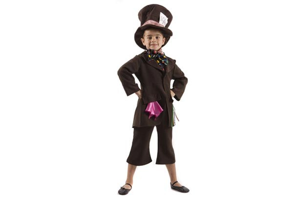 The Kids Window Mad Hatter costume