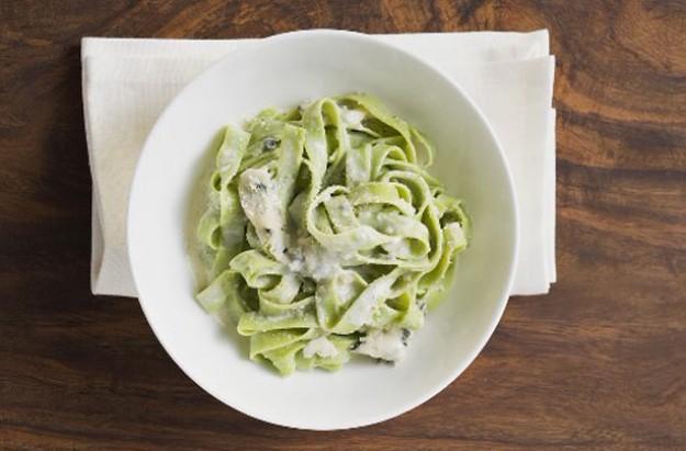 Tagliatelle with gorgonzola