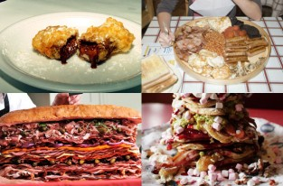 Most calorific meals on the planet - pictures