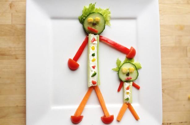 Fun ways to get your kids eating fruit and veg