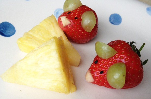 Fun ways to get your kids eating fruit and veg