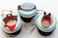 Cowboy cupcakes