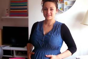 Katie Brennan: 37 weeks pregnant