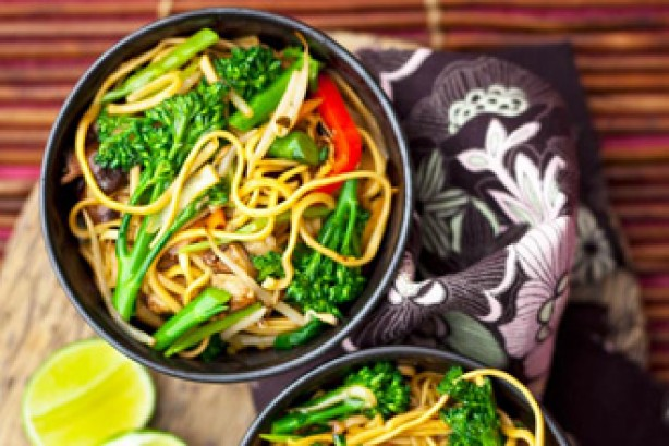 Chinese vegetable chow mein