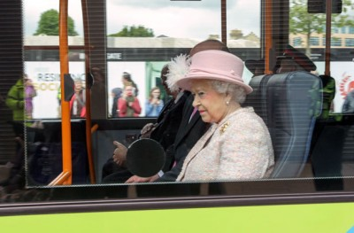 Queen on the bus