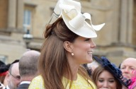 Kate Middleton Buckingham Palace garden party, May 2013