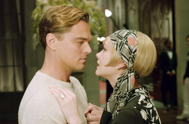 Leonardo Di Caprio cream jumper The Great Gatsby