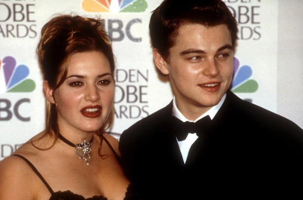 Leonardo Di Caprio and Kate Winslet Titanic