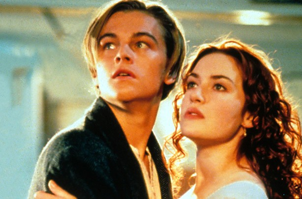 Leonardo Di Caprio and Kate Winslet Titanic 1997