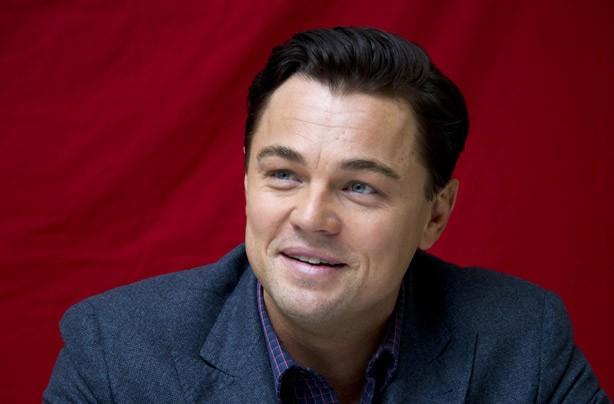 Leonardo Di Caprio dark hair