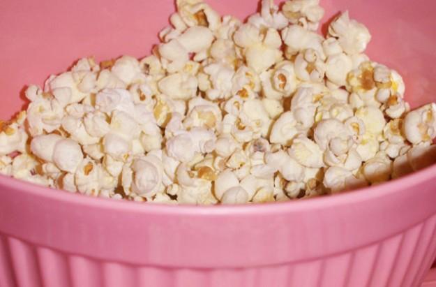 Sweet orange popcorn
